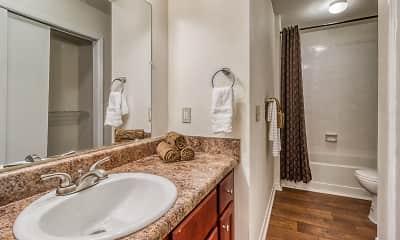 Bathroom, Arbor Club, 2