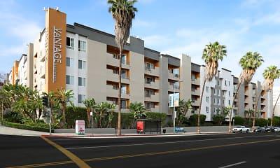 Building, Vantage Hollywood Apartments, 1