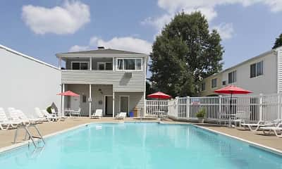 Pool, Shorewood Apartments, 2