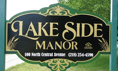 Community Signage, Lakeside Manor, 1