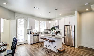 Kitchen, Aero Luxury Townhomes, 1