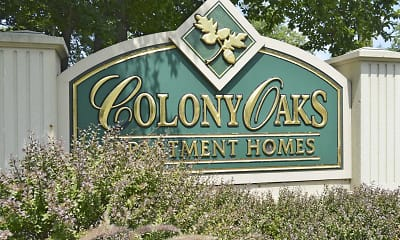 Community Signage, Colony Oaks Apartments, 2