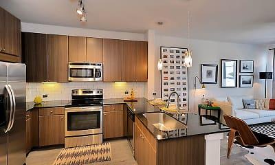 Kitchen, Oaks Trinity, 1