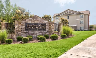 Community Signage, Carolina Place Apartments, 2