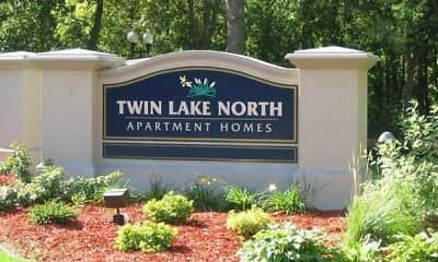 Community Signage, Twin Lake North Apartments, 0