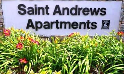 Community Signage, St. Andrews Apartments, 1