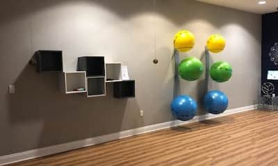 Fitness Weight Room, The Grand Cherry Hill Apartment Homes, 2
