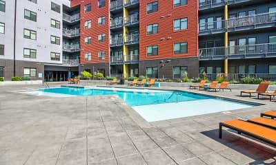 Pool, Crossroads Westside, 1