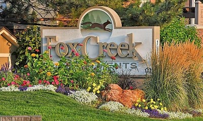 Community Signage, Fox Creek Apartments, 2