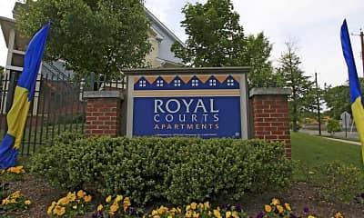 Community Signage, Royal Courts & Savannah Heights, 2