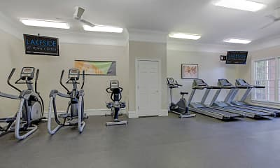 Fitness Weight Room, Lakeside at Town Center, 1