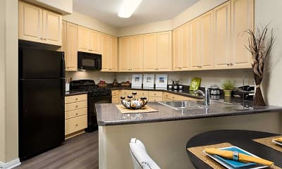 Kitchen, Avalon Warner Place, 1