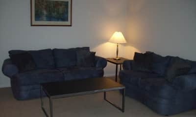 Living Room, Northtowne Apartments & Townhomes, 1