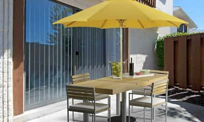 Patio / Deck, Regency Club Townhomes & Apartments, 2