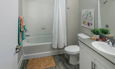 Bathroom, 1000 S Broadway Apartments, 2