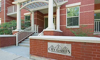 Community Signage, City Gables, 1