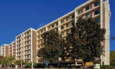 Building, Regent Apartments, 2
