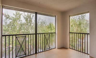 Patio / Deck, Coconut Palm Club Apartments, 2