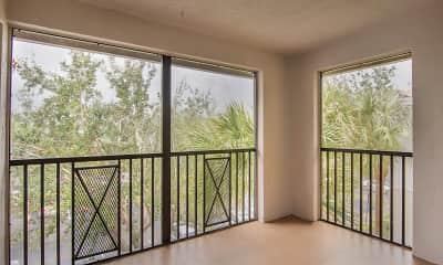 Patio / Deck, Coconut Palm Club Apartments, 2