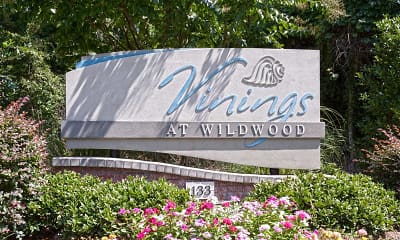 Community Signage, The Vinings at Wildwood, 2