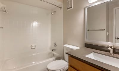 Bathroom, Sheridan Ocean Club Apartments, 2