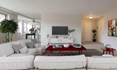 Living Room, Oakwynne House, 1