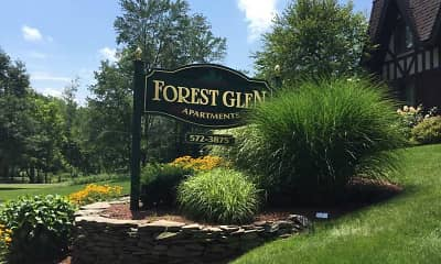 Landscaping, Forest Glen Apartments, 2