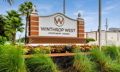 Community Signage, Winthrop West Apartment Homes, 0