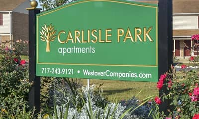 Community Signage, Carlisle Park Apartments, 0
