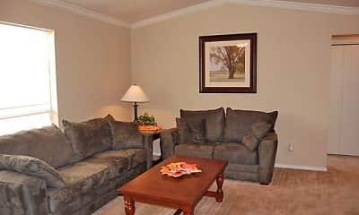 Living Room, Spring Hill Village, 1