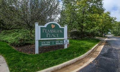 Community Signage, Pembrook Place, 2