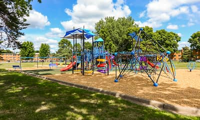 Playground, Huntington Place, 1