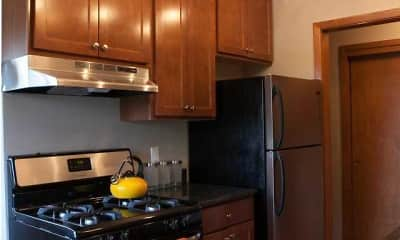 Kitchen, The Avenue Apartments, 1