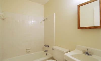 Bathroom, Colony House, 2