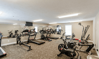 Fitness Weight Room, Mill Springs Townhomes, 1