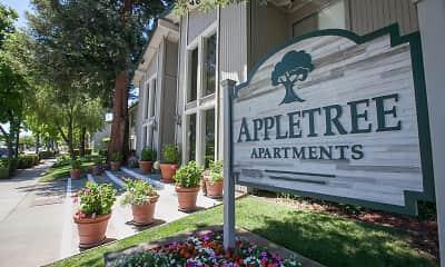 Community Signage, Appletree Apartments, 1