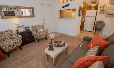 Living Room, The Pointe of Ridgeland, 1