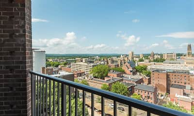 Patio / Deck, New Haven Towers, 2