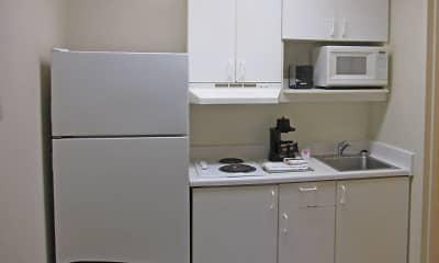 Kitchen, Furnished Studio - Virginia Beach - Independence Blvd., 1