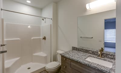 Bathroom, Clearfield Junction Apartments, 2