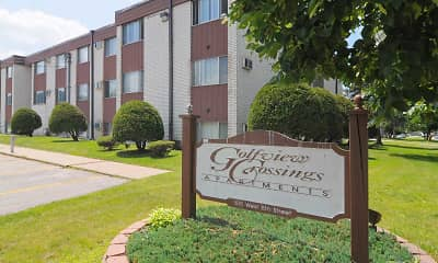 Community Signage, Golfview Crossings Apartments, 2
