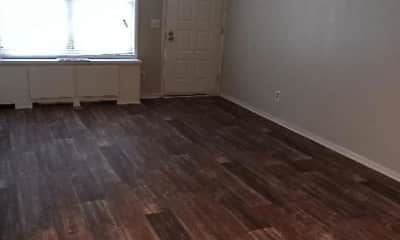 Living Room, Norwood Apartments, 1