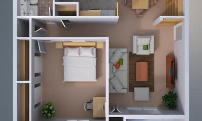 Roxalana Hills Apartments, 0