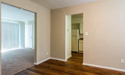 Dining Room, Buckhead Plaza Apartments, 2