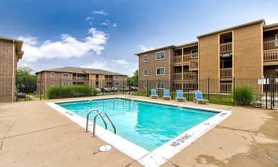 Pool, Willow Lake Apartments, 0