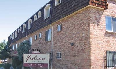 Building, Falcon Apartments, 1