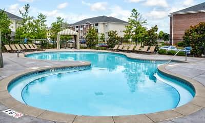 Pool, Broadstreet At EastChase Apartments, 1