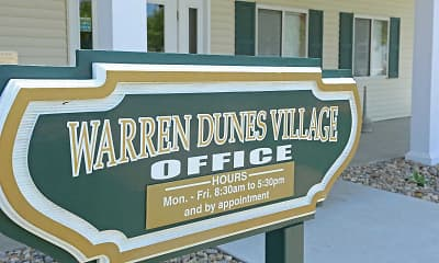 Community Signage, Warren Dunes Village, 2
