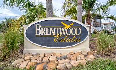 Community Signage, Brentwood Estates, 2