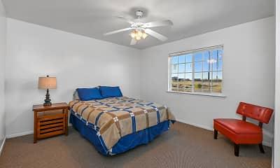 Bedroom, University Terrace Apartments, 1
